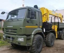 КамАЗ 6560 вездеход с КМУ, 2019