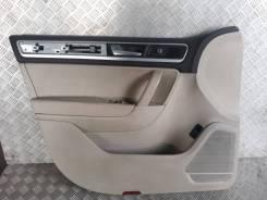 Обшивка двери Volkswagen Touareg 2014, левая передняя