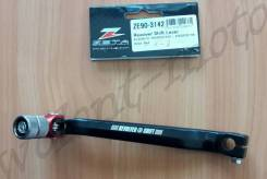 Лапка переключения передач Zeta KLX250 01- ZE90-3142 Черно красный