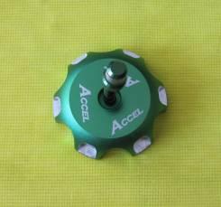 Крышка бензобака Accel KLX/KFX/RMZ/DRZ/LT-R зеленый GTC-07