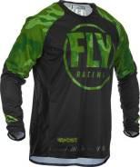 Джерси FLY Racing Evolution DST размер: L зеленая/черная (2020)