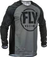 Джерси FLY Racing Evolution DST размер: ХХL черная/серая (2020)