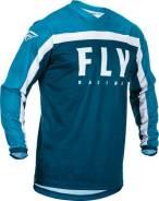 Джерси FLY Racing F-16 размер: М синяя/голубая/белая (2020)