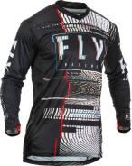Джерси FLY Racing LITE Hydrogen Glitch размер: L черная/красная/синяя (2020)