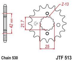 Звезда передняя (ведущая) JTF513.13