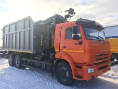 КамАЗ 65115 ломовоз металловоз самосвал с манипулятором, 2019