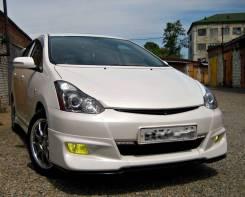 Накладка на бампер. Toyota Wish, ANE10, ANE10G, ZNE10, ZNE10G