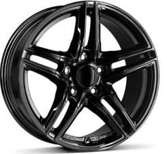 Borbet Xrt 8x17 5x120 et38 72,5 graphite polished