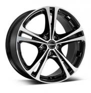 Borbet Xl 7,5x17 5x108 et40 72,5 black polished