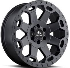 Buffalo Bw-200 8x17 6x139,7 et55 106,3 matte black w/machine dark tint lip