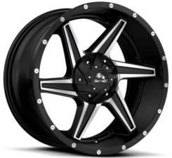 Buffalo Bw-011 9x20 5x150 et38 110,1 satin black/ machined