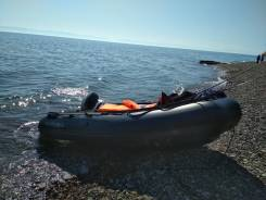 Лодка ПВХ Solar 380 с мотором Yamaha 15л. с.