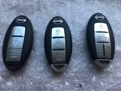 Ключ зажигания, смарт-ключ. Nissan: Teana, X-Trail, Elgrand, Serena, Leaf, Tiida, Juke, Cube, Bluebird Sylphy, Skyline, Micra, Sylphy, Tiida Latio, Du...