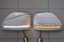 Корпуса зеркал в подсветкой и поворотом Patrol Y62 / Infiniti QX56