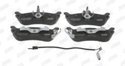 Колодки тормозные задние MB W163 ML230/270CDI/320/430 2/98- Jurid
