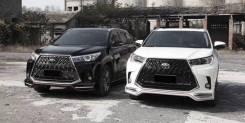 Обвес кузова аэродинамический. Toyota Highlander, ASU50, ASU50L, GSU50, GSU55, GSU55L, GVU58 1ARFE, 2GRFE, 2GRFKS, 2GRFXE, 2GRFXS