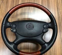 Руль. Mercedes-Benz: CLK-Class, G-Class, E-Class, CLS-Class, C-Class