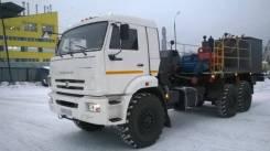 Цементировочный агрегат ЦА-320 на шасси КамАЗ 43118 вездеход
