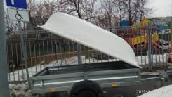 Пластиковая крышка на прицеп