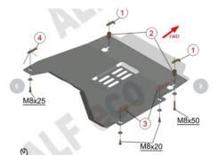 Защита кислородного датчика Renault Kaptur / Duster / Arkana / Terranо