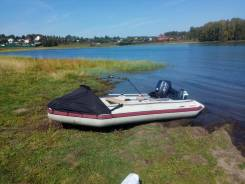 Продам лодку ПВХ с мотором 18л. с.