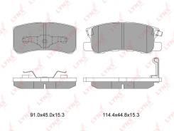 Колодки тормозные дисковые. Mitsubishi: Lancer Evolution, Grandis, RVR, Delica D:5, Pajero, Delica, Lancer, ASX, Montero, Outlander, Endeavor, Galant...