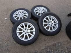 """Как новый колёса 195/65R15 Dunlop Winter Maxx 2017год. 6.0x15"""" 5x100.00 ET43 ЦО 64,1мм."""