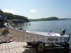Моторная лодка бриз14