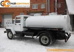 ГАЗ. Пищевая автоцистерна 33098 водовоз/молоковоз 4,2м3, 4 430куб. см., 4 200кг., 4x2