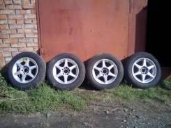 """Колеса: резина Bridgestone Blizzak 195/65 R15, дис 5*114,3 (унв. свк),. x15"""" 5x114.30 ET-48"""