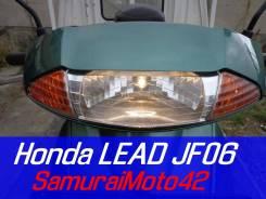 Honda LEAD JF06 (100) двухместный + ВИДЕО