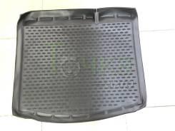 Модельный штатный коврик в багажник для Lada Xray 2015- без фальш-пола