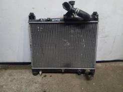 Радиатор двигателя Toyota Platz 2004