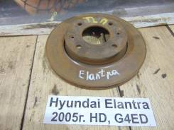 Диск тормозной Hyundai Elantra HD Hyundai Elantra HD 2005, правый передний