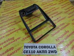Консоль вокруг магнитолы Toyota Corolla CE110 Toyota Corolla CE110 1995