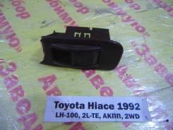 Кнопка стеклоподьемника перед. лев. Toyota Hiace LH100 Toyota Hiace LH100 1992