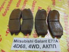 Колодки тормозные передние к-кт Mitsubishi Galant E77A Mitsubishi Galant E77A 1992