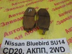 Колодки тормозные передние к-кт Nissan Bluebird SU14 Nissan Bluebird SU14