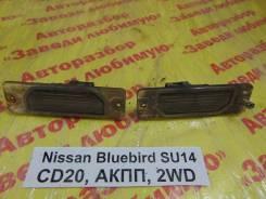 Подсветка номера Nissan Bluebird SU14 Nissan Bluebird SU14