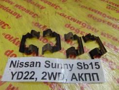 Пружина прижимная тормозной колодки Nissan Sunny SB15 Nissan Sunny SB15 2000