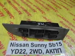 Блок управления стеклоподъемниками Nissan Sunny SB15 Nissan Sunny SB15 2000