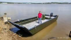 Аппарельная лодка (катер) для перевозки купить во Владивостоке