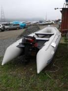 Лодка ПВХ Solar-400 с мотором