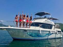 Аренда катера Виктория, вечерние прогулки на яхте, морские экскурсии