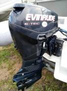 Evinrude. 50,00л.с., 2-тактный, бензиновый, нога L (508 мм), 2013 год