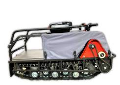 Мотобуксировщкик БРАТ 500/15 л.с БЕЗ Э/ЗАП. Zongshen (60 Ватт) 1500 мм, 2019