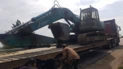 Услуги экскаватора Кобелко SK200 с оператором (20т, ковш 1 куб) скидки