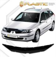 Дефлектор капота Renault Laguna 2000-2007 (Мухобойка)