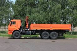 КамАЗ 43118 вездеход бортовой с гидравлическим манипулятором (КМУ ГМУ), 2019
