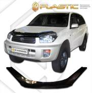Дефлектор капота Toyota Rav-4 2000-2005 (Мухобойка)
